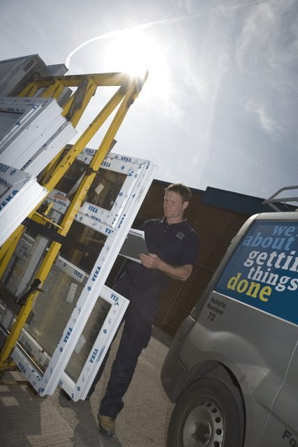 Photography for City West Housing Trust of their repairs team.