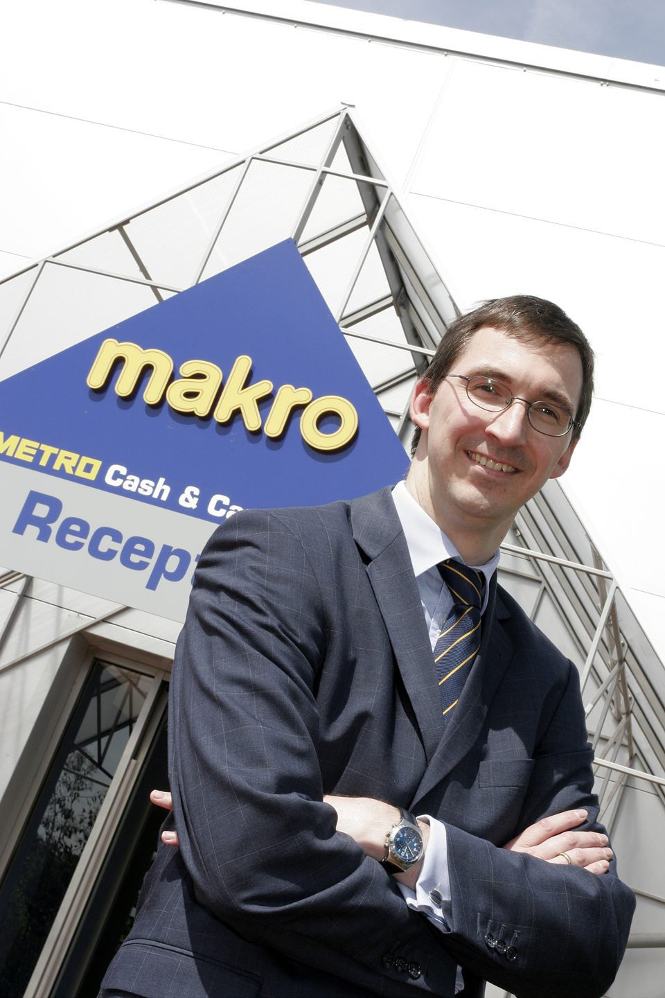 Editorial Photography for The Grocer of Makro manager