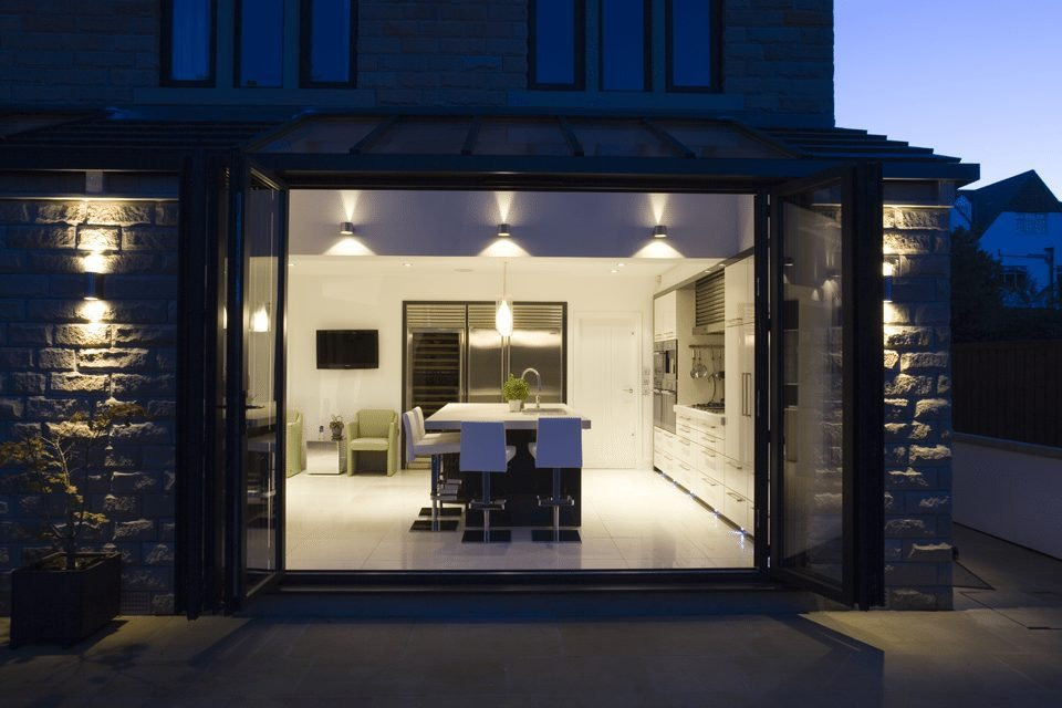 Bi-fold door photography in Manchester for Apropos
