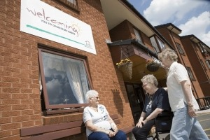 Care home photography for Trafford Housing Trust