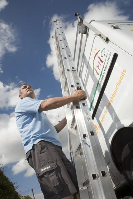 Photography for Trafford Housing Trust of their repairs team.