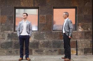 Adam Higgins and Tim Heatly at Capital for Estates Gazette