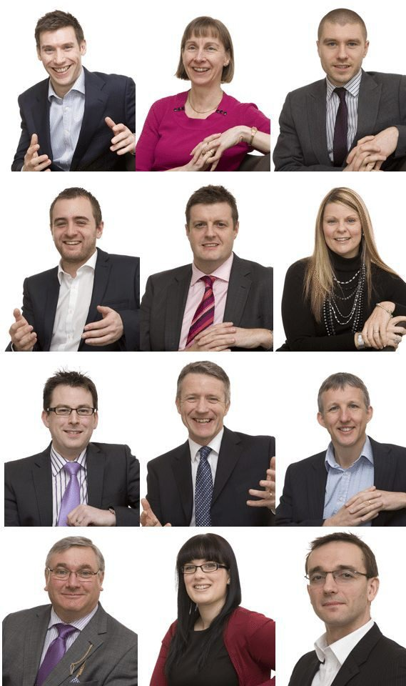 Business Head and Shoulders Portraits