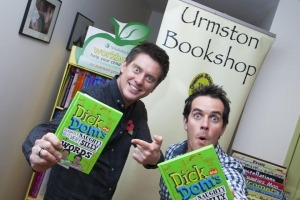 Dick and Dom visiting Manchester