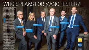 Editorial Photography in Manchester for Estates Gazette at Manchester Town Hall