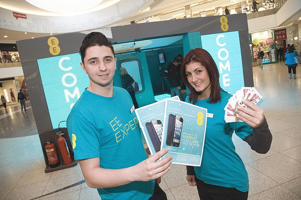 Event Photography Manchester - EE launch Manchester Arndale