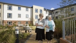 Care Home, extra care shelterd housing photography by professional photographer