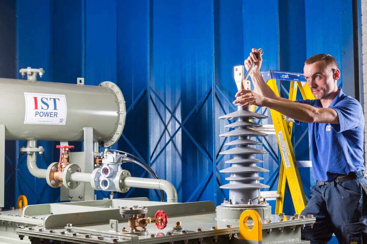 Industrial Photography for IST Transformers , Wythenshawe