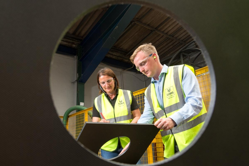Industrial Photographer working for North West engineering firms