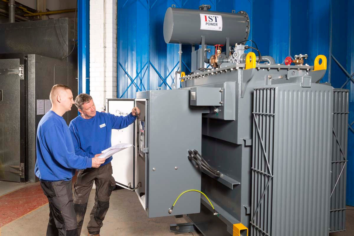 Industrial Photography for IST Transformers in Wythenshawe