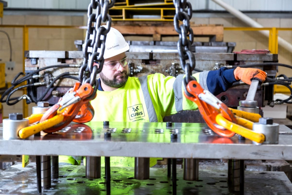 Industrial Photography in the North West for Cubis Systems