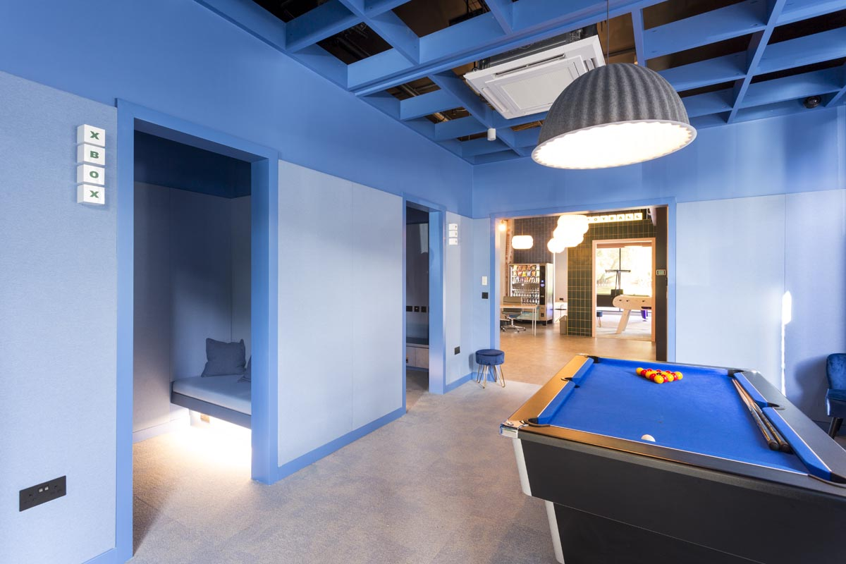 Student Halls of residence interior photography