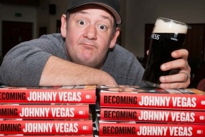 Portrait of Johnny Vegas by Manchester photographer