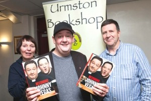 Johnny Vegas visits Urmston, Manchester