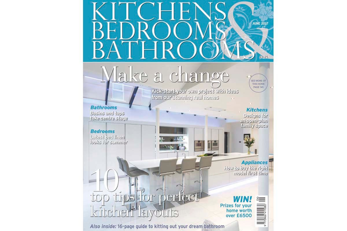 Editorial Interiors photography for Kitchen Bedroom Bathroom Magazine commissioned by Poggenpahl