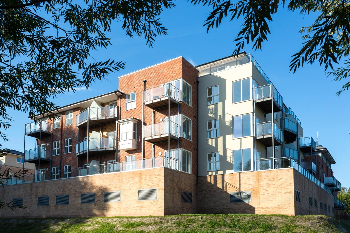 Architectural photography at Leamington Waterfront by Triangle Architects
