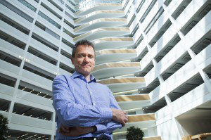 David Roberts from the Co-op photographed for Estates Gazette