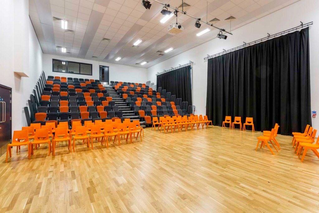 Manchester Enterprise Academy, school architectural photography for Laing O'rourke