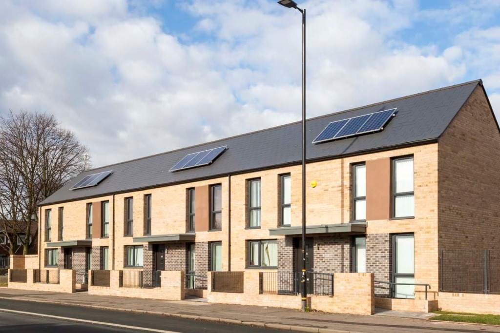 Moss Lane West, Manchester. Architectural Photography for United Living, Trafford Housing Trust development