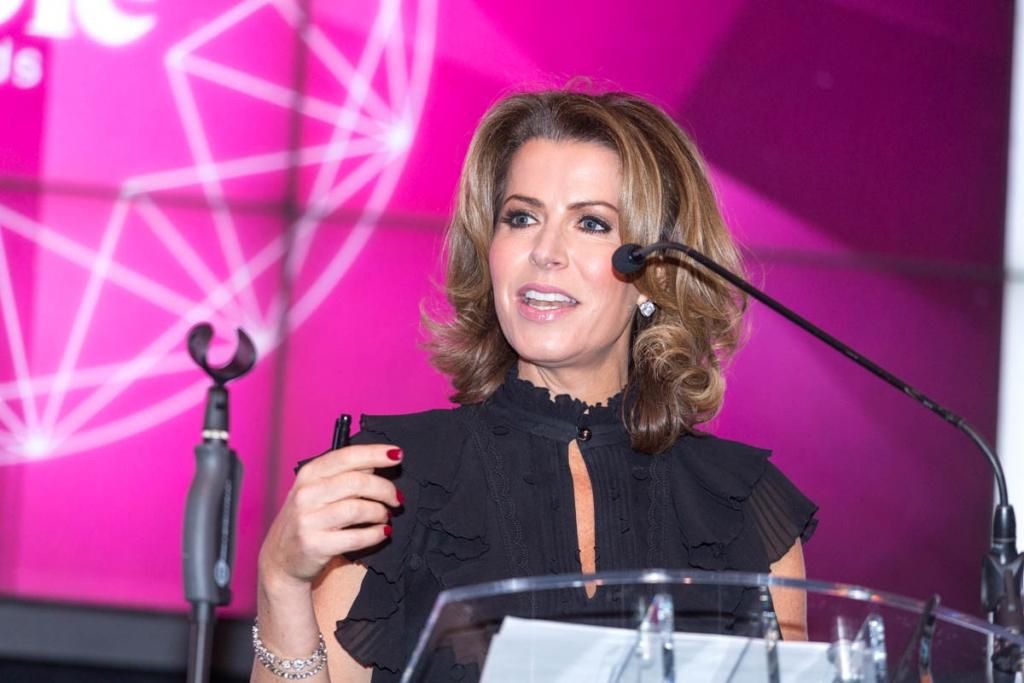 Natasha Kaplinsky photographed at at DWF Rubies awards