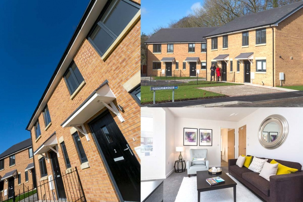 New Build Property Photography for Seddons Construction.