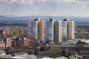 Old Trafford Seven Sisters Hulme Regeneration