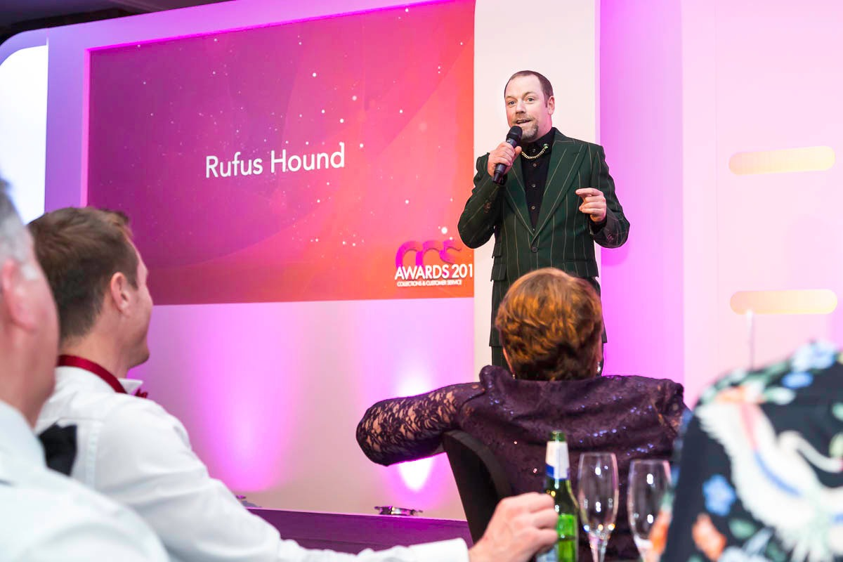 Rufus Hound at CDSP event Manchester