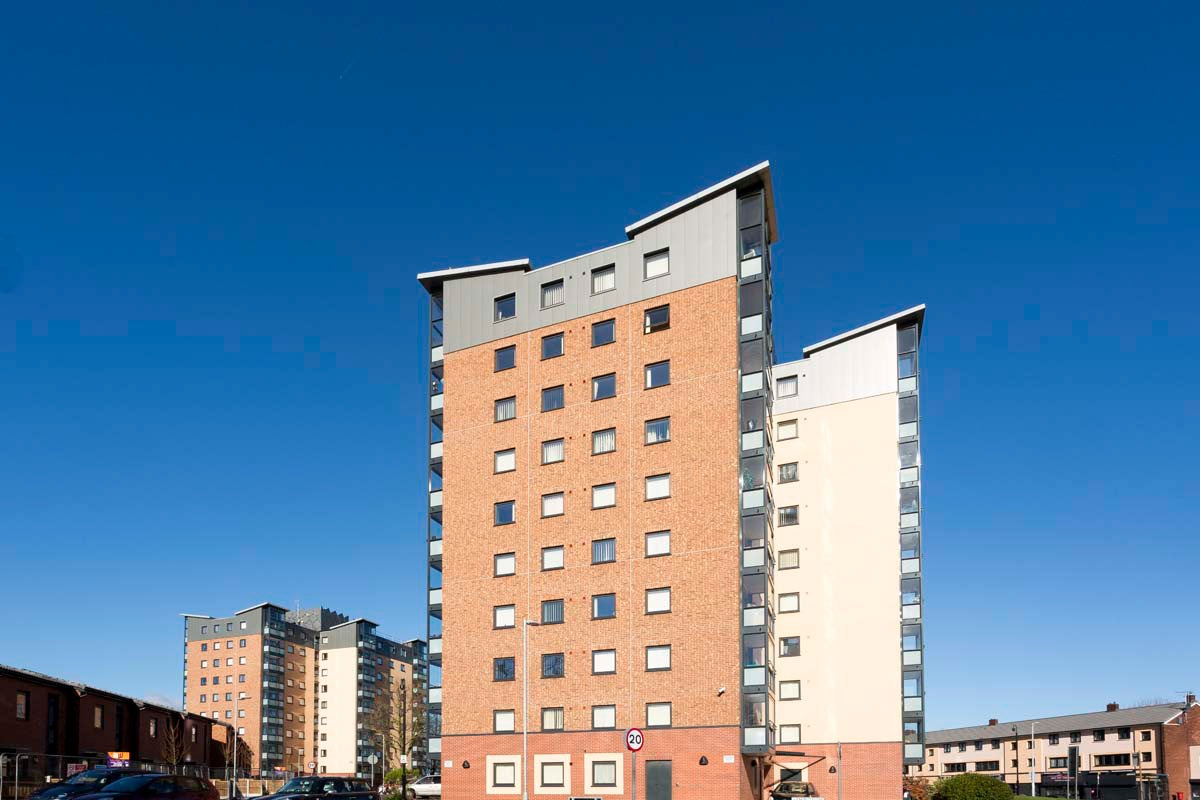 Salford Tower Blocks Photography for United Living