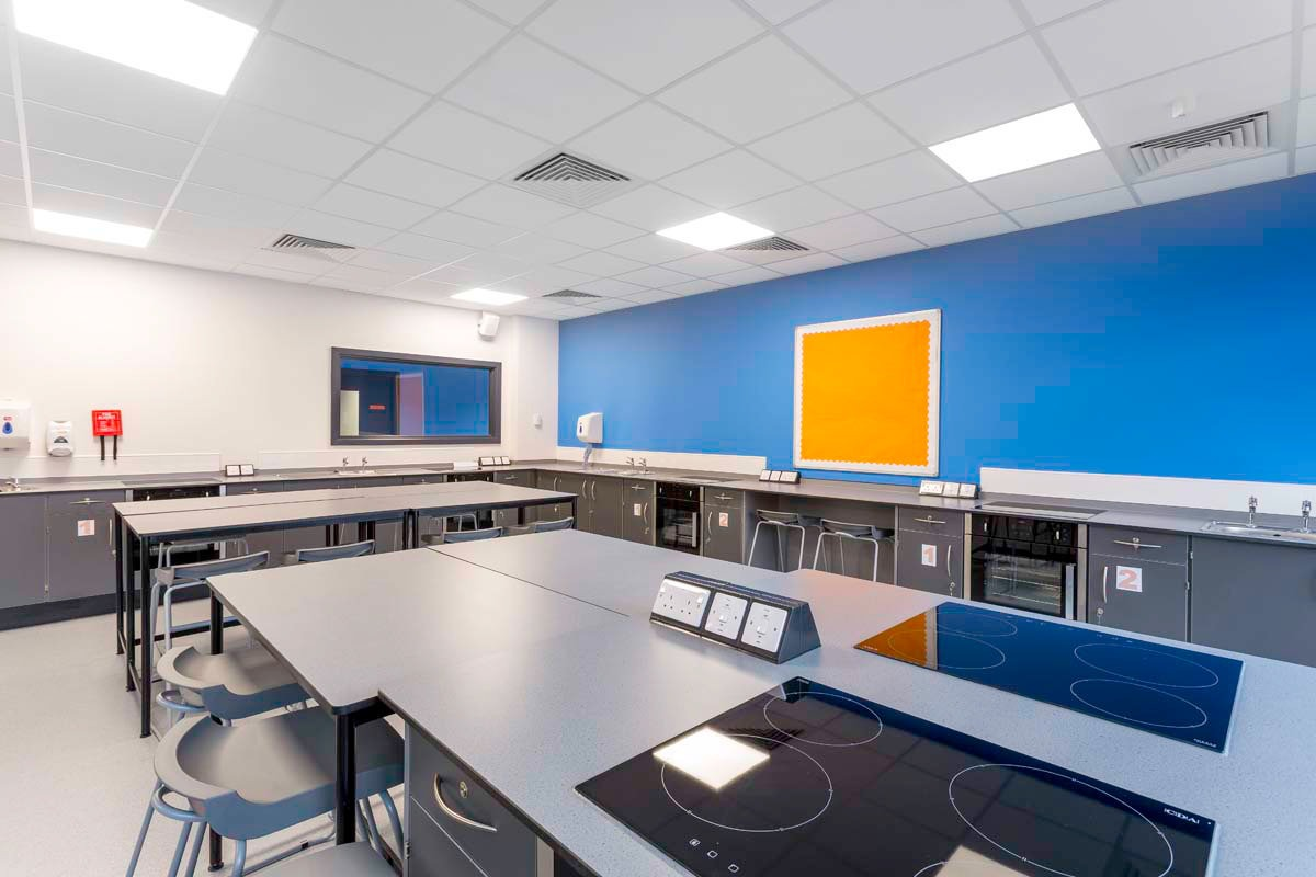 School Architectural Photography for Laing O'rourke at MEA Central.
