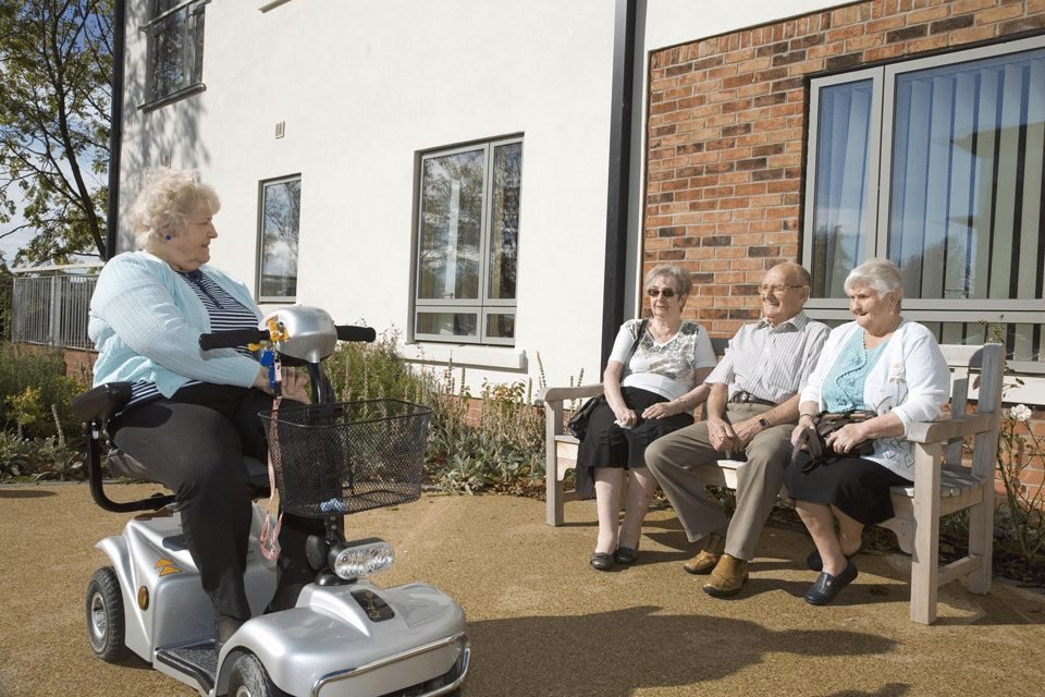 Sheltered Housing photography by Manchester professional photographer