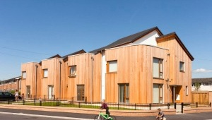 Housing scheme in Crewe photographed for Triangle Architects.