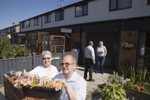 Social Housing photographer Manchester working for the Guinness Partnership in West Gorton