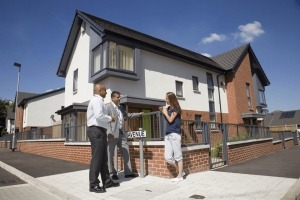 Social Housing photography for the Guinness Partnership West Gorton, Manchester