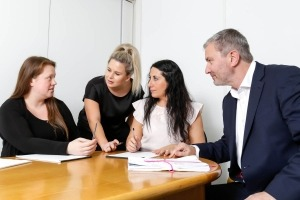 Solicitors group working