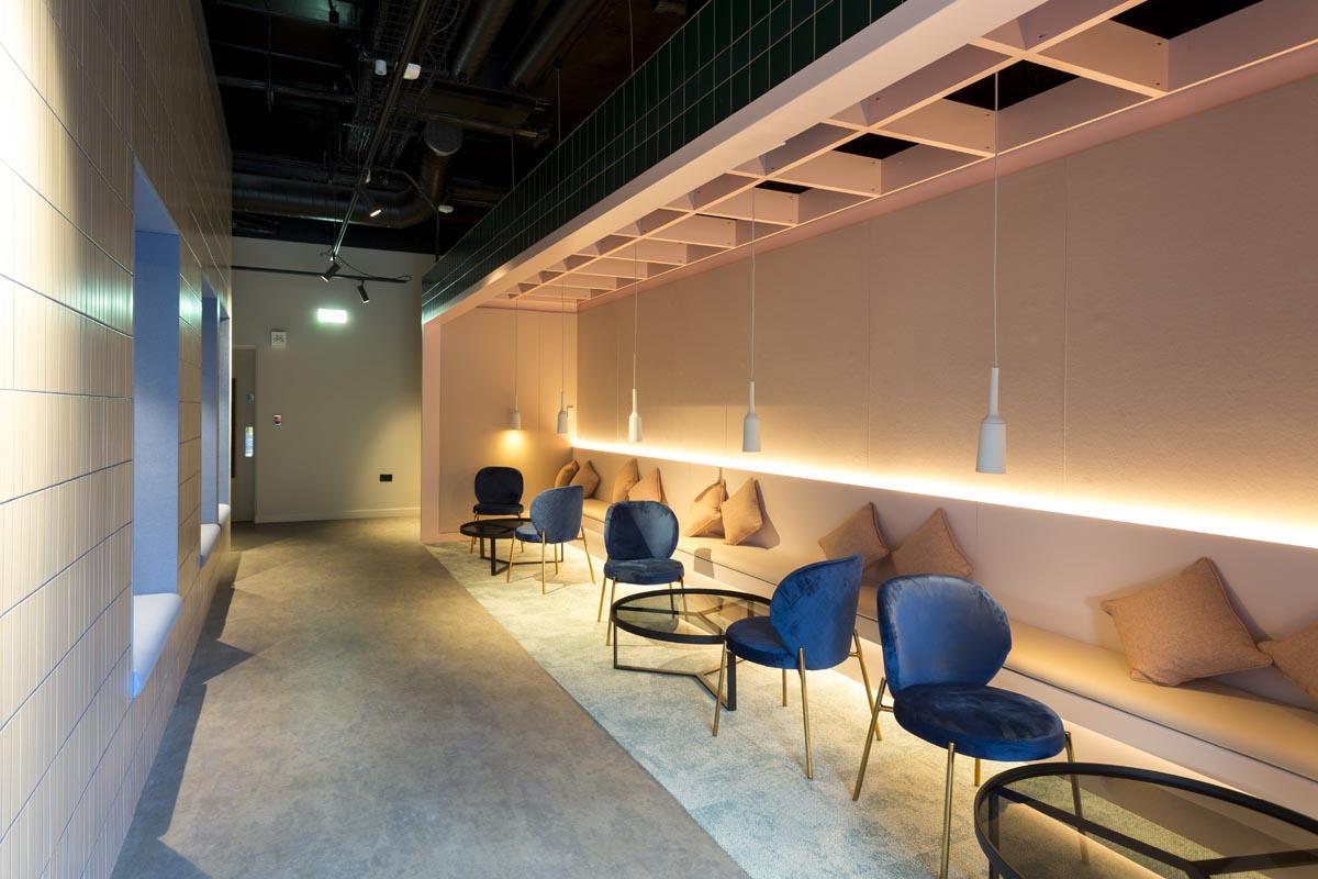 Interior design photography, student halls Liverpool.