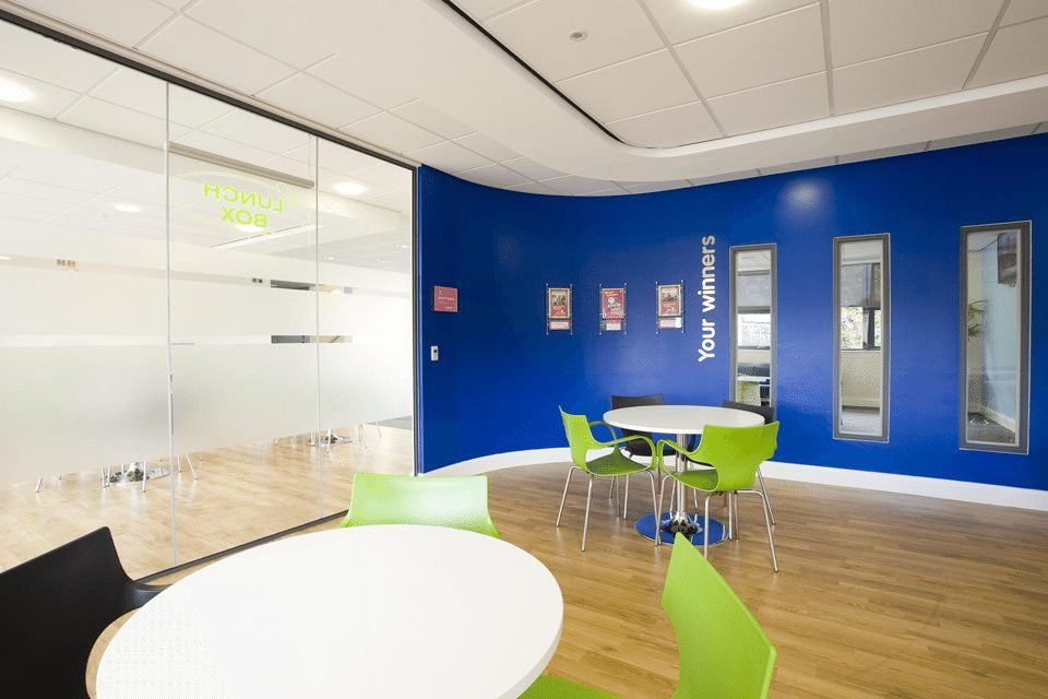 professional office interior photography at willow park housing trust